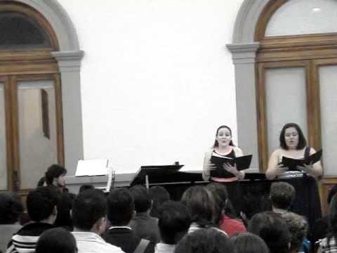 1.Duett: Erste Begegnung - Spanisches Liederspiel, op. 74 - Robert Schumann