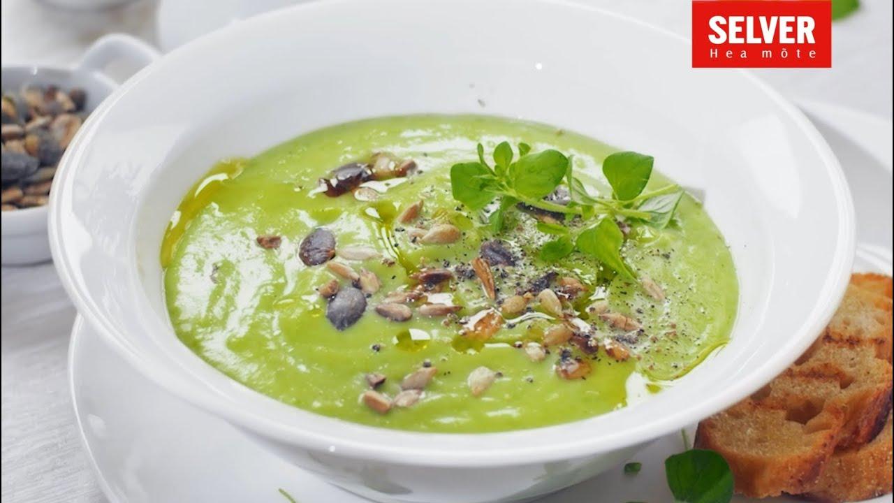 Rohelise herne ja lillkapsa supp