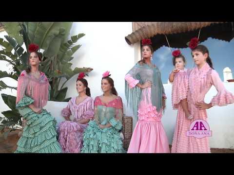 93ce8252f Trajes de Flamenca Doña Ana - YouTube