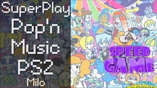 Speed Game Hors-série: Live Pop'n Music PS2 avec Milo