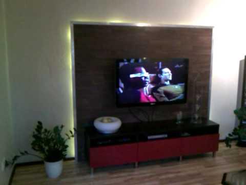 multimedia wand youtube. Black Bedroom Furniture Sets. Home Design Ideas