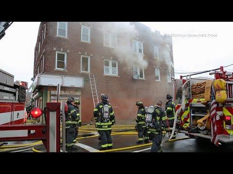 Pembroke St. 3rd Alarm (Bridgeport, Ct) 1/17/18