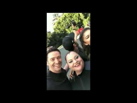 Hugh Jackman, Zac Efron, Zendaya, Keala Settle Instagram Live (16/12/17)