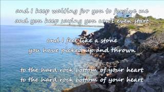 Randy Travis - Hard Rock Bottom Of Your Heart (with lyrics)