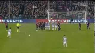 Genoa-Juventus 0-1 Highlights 16-03-2014  Gol di Pirlo