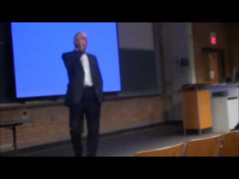 Michael Levine speaking at LMU