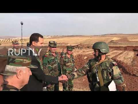 Syria: Assad visits