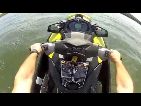 Sea Doo RXP X 260 does water wheelie