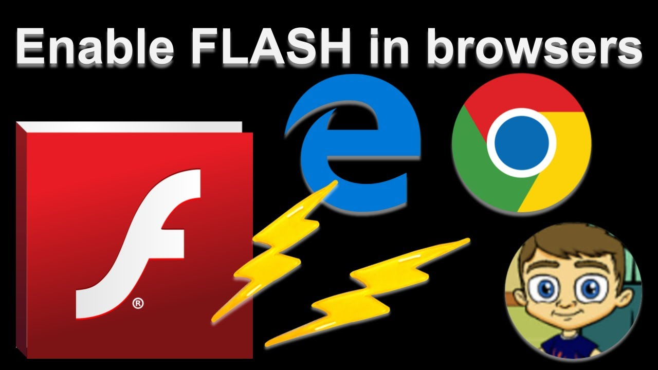 aktivere adobe flash