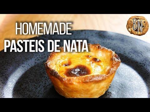 Pasteis de Nata | Portuguese Custard Tarts