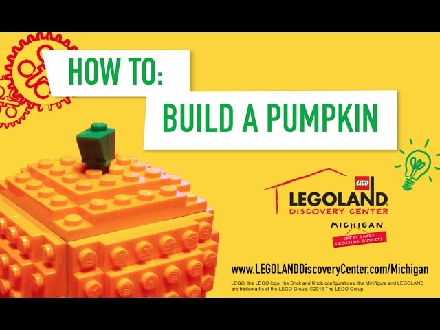 How to Build the Perfect LEGO Brick Pumpkin