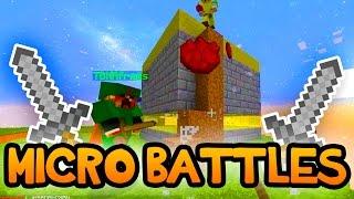 "Minecraft ""MICRO-BATTLE MARATHON!"" Win Challenge w/ Preston and Rob"
