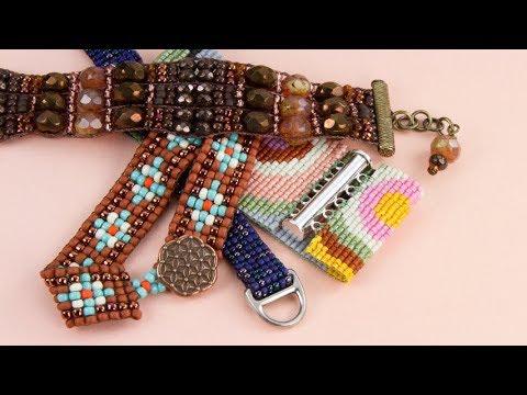 Artbeads Tutorial Loomed Bracelet