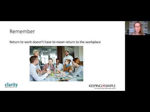 Keeping HR Simple HR Webinar