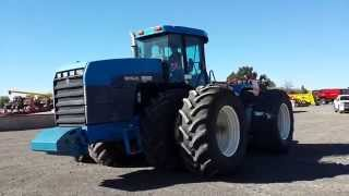 Big Iron Online Auction, 1997 New Holland Versatile 9682 4X4 Tractor, Sells November 4, 2015