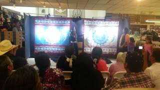 Miss Navajo Nation Pendleton Blanket Introduction