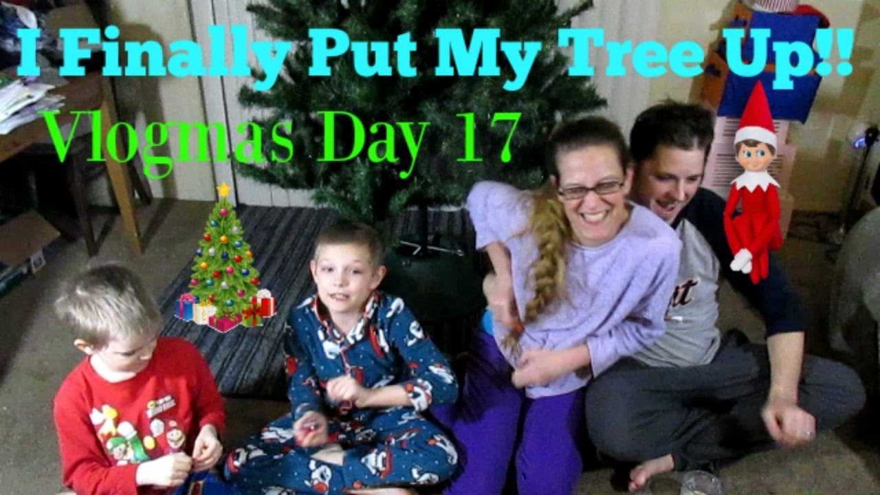 Finally Put The Christmas Tree Up!! Vlogmas Day 17