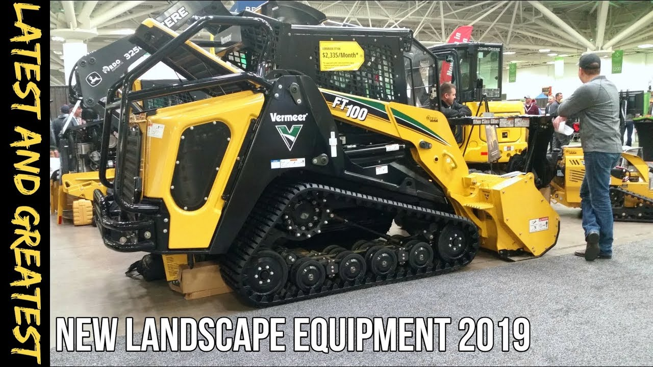 Newest Landscape Equipment Tools For 2019 Youtube