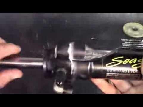 seastar hydraulic steering,reseal or replace