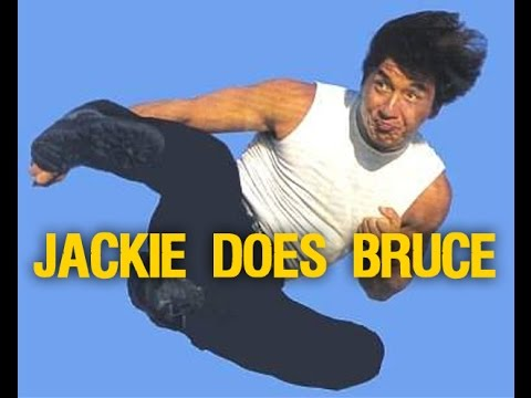 Jackie Chan Mimics Bruce Lee Travel Video