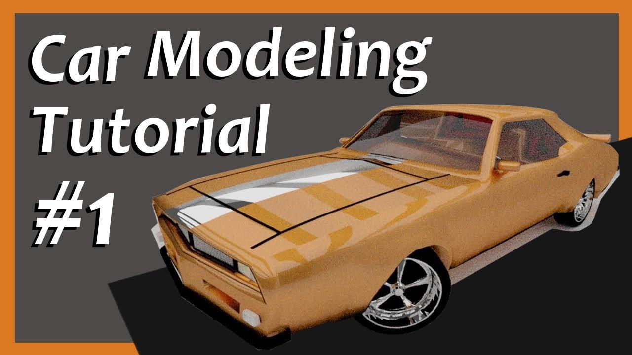 Blender - Car Modeling Project #1 [Tutorial]