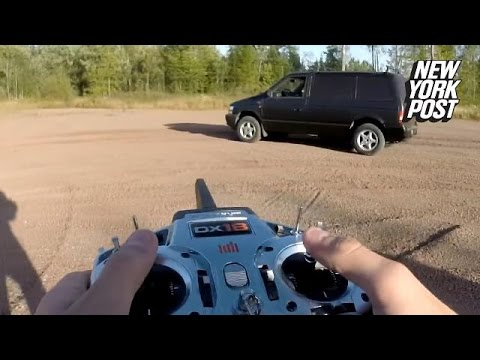 This lifesize remote control car is the toy you never knew you wanted