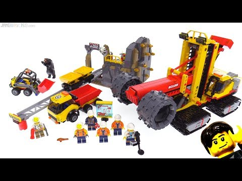 LEGO City Mining Experts Site review 👷 60188
