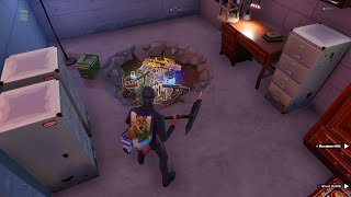 John Wick Secret Basement in Fortnite