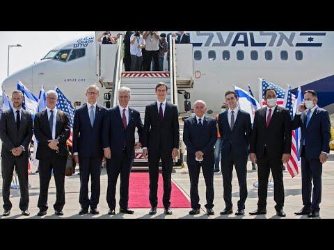 US-Israeli Flight With Kushner On Board Takes Off For UAE After Normalisation Deal