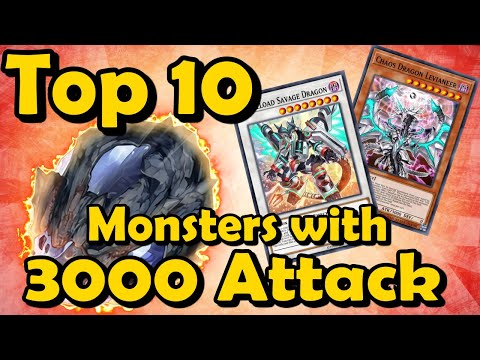 Top 10 Monsters with 3000 Attack in YuGiOh from YouTube · Duration:  22 minutes 14 seconds