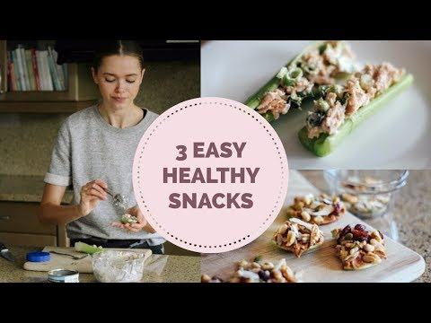3 Easy Healthy Snack Ideas | Holistic Nutritionist | Model | Mommy