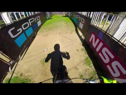 Redbull Valpareiso cerro abajo Race run Ambroise Hebert by GOPRO