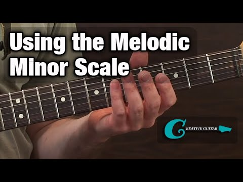 GUITAR THEORY: Using the Melodic Minor Scale