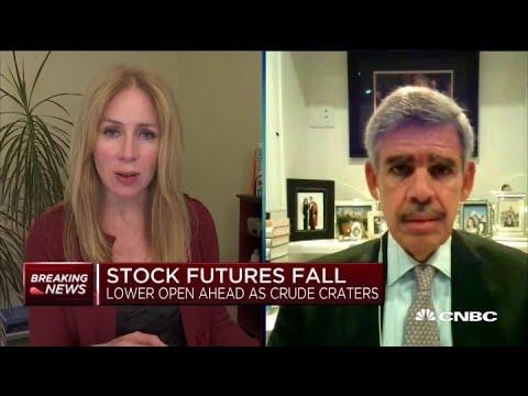 U.S. economy could contract up to 14% in 2020 due to coronavirus crisis: Allianz advisor El-Erian