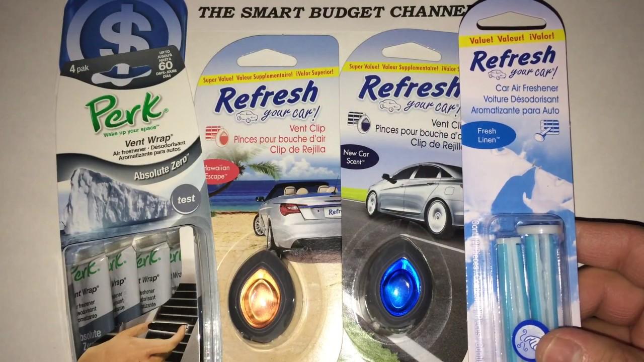 Car Freshener: Car Air Fresheners Showdown Review (Dollar Tree Items