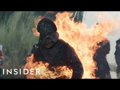 How 'Game of Thrones' Stunt People Are Set On Fire