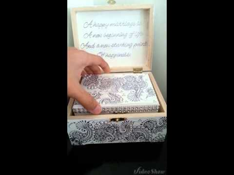Set of 3 personalized jewelry boxes