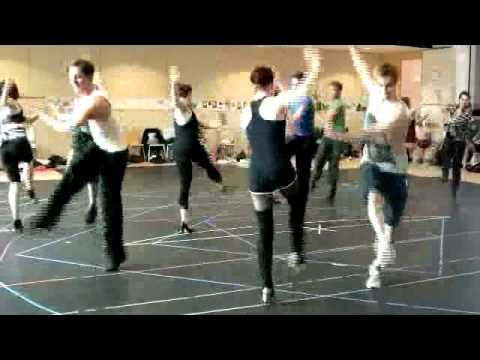 Top Hat - Rehearsal Footage