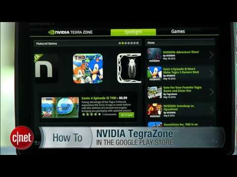 CNET How To: Find Android Tablet Apps