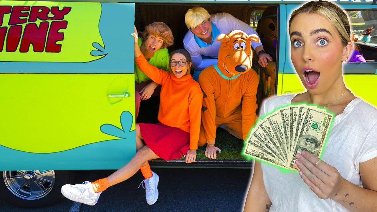 LAST TO LEAVE THE MYSTERY MACHINE WINS $10,000