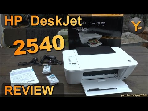 Review Hp Deskjet 2540 Multifunktions Drucker Scanner
