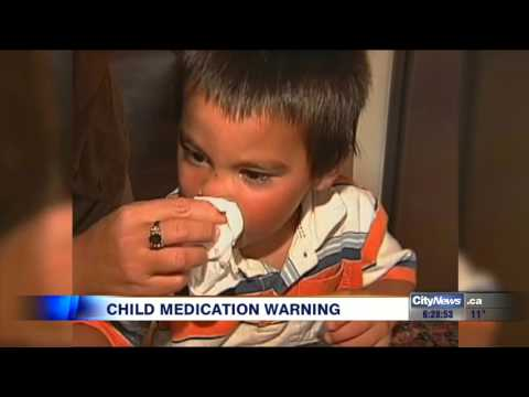 Video: Parents Warned About Giving Young Children Cough Medicine