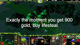 DotA l Troll farming 4k gold in 12 min. (With Tips)