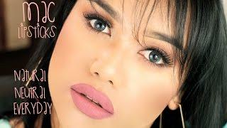 MAC Lipsticks: {Neutral, Natural & Everyday} w/ 23 Lip Swatches