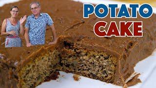 1912 Caramel Potato Cake Recipe - Fannie Farmer Cookbook Recipe