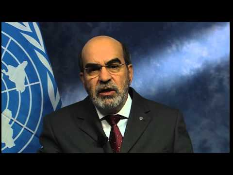 FAO Director-General's message to UN Secretary General Ban Ki-moon