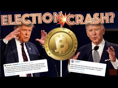 How Will The PRESIDENTIAL ELECTIONS Affect BITCOIN & the Cryptocurrency Market? Here's My Plan…