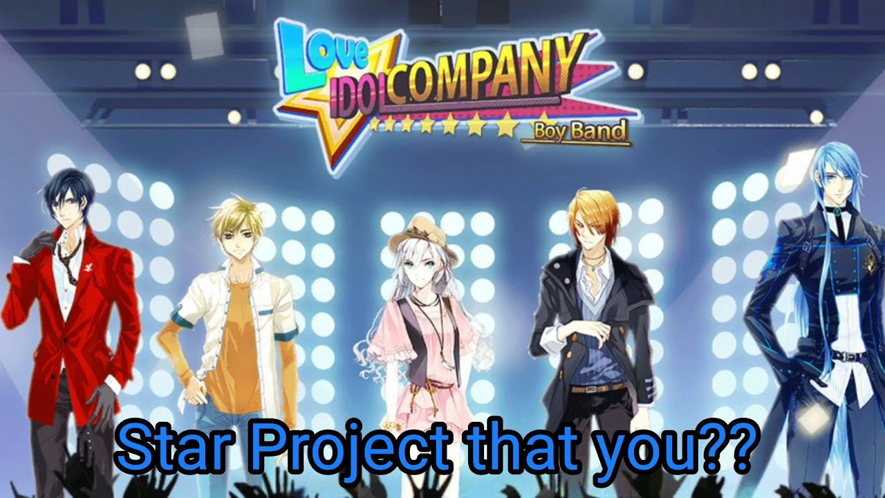 Boy Band Kpop Idol Moblie Game Part 1 Youtube