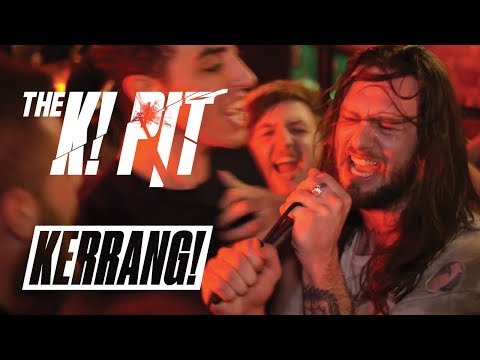 WHILE SHE SLEEPS Live In The K! Pit (Tiny Dive Bar Show)