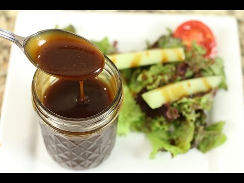 How to make sweet vinegar and olive oil dressing